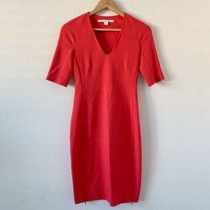 Diane von Furstenberg Hot Pink Bodycon Dress